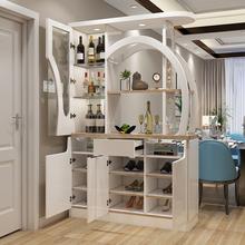 [husuihua]欧式酒柜隔断柜客厅小户型