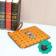 新式(小)hu子包高品质ua女式手拿包手挽包信封包钱包男女通用式