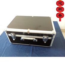 洁斯诺hu色蓝色-多ch携式铝箱专业家电清洗四方箱包邮