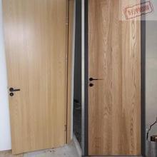 复合门hu奢窄边极简rd卧室套装室内房间门生态烤漆门实木