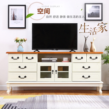实木电视柜欧式卧室电视柜