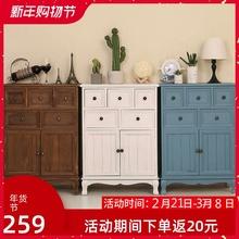 斗柜实hu卧室特价五uo厅柜子储物柜简约现代抽屉式整装收纳柜