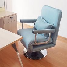 多功能hv的隐形床办vg休床躺椅折叠椅简易午睡(小)沙发床