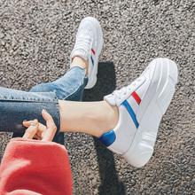 17(小)hw鞋潮鞋女2kk春季新式百搭厚底运动白色休闲鞋女学生老爹鞋