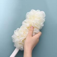 日本Shw搓澡神器浴pw浴球洗澡刷子搓澡巾搓背刷浴擦