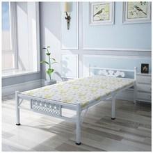 折叠床hx用单的床午ax便携1米1.2米铁床双的办公室简易钢丝床