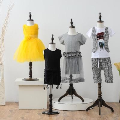 挂衣架hy童的体道具fz服拍摄女童摄影架子模型地台(小)童模特女