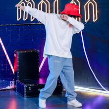 儿童街舞套装男童嘻哈潮流