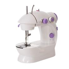 手动缝hz机迷你全自rb便携式家用(小)袖珍型吃厚缝衣机套装包邮