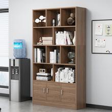 书架置hz架卧室落地rs易家用客厅收纳架办公室多功能组合书架