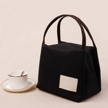 日式帆hz手提包便当dn袋饭盒袋女饭盒袋子妈咪包饭盒包手提袋
