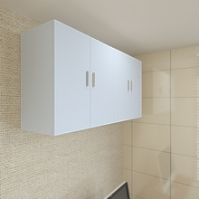厨房挂ia壁柜墙上储th所阳台客厅浴室卧室收纳柜定做墙柜