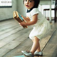 MARicMARL宝st裤 女童可爱宽松南瓜裤 春夏短裤裤子bloomer01