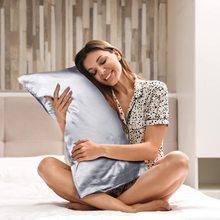 仿真丝if巾柔软丝滑sf丝枕头套丝绸仿蚕丝枕巾48x74cm