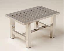 不锈钢ii厚(小)凳子家dr凳子浴室凳洗澡凳 高凳子椅子特价