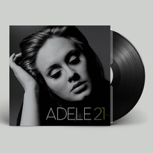 现货正il 阿黛尔专nadele 21 LP黑胶唱片 12寸留声机专用碟片