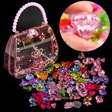 儿童宝石玩具女孩钻石水晶