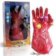 钢铁侠机械手臂可穿戴金属无im10手套灭ad射器玩具可打响指