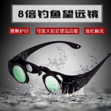 钓鱼夜im透视高倍高ad眼镜演唱会专用非红外线夜视望远镜的体