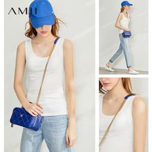 amiim法式女装白ad心春夏季西装内搭吊带打底衫高级感上衣外穿