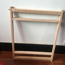 新式 in质手工diia挂毯编织器成的家用中大号纺织机玩具