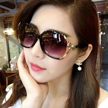 202in新式女士偏na镜圆脸网红墨镜女潮明星式防紫外线大框眼镜