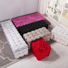 欧式凳in艺长条沙发ra凳实木服装店试鞋凳收纳凳(小)沙发