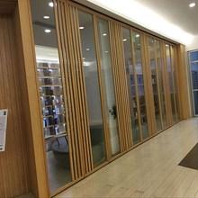 商务楼in公室高隔断er演播厅隔墙活动玻璃门屏风隔断墙