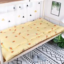 学生宿in单的工厂租hi铺0.9米1m软垫褥子加厚棉垫被