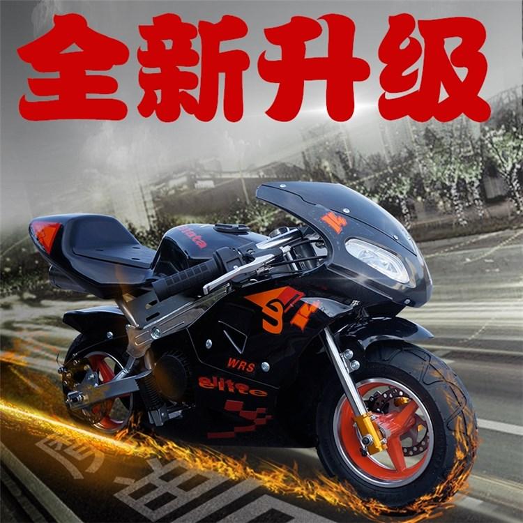 成的儿童迷你跑车io5托车摩托ma油2020新款款49cc灯(小)