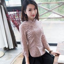 [iosse]唐装女中国风古装上衣长款