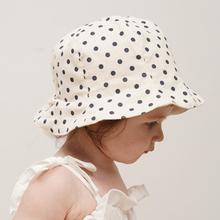 韩国进口婴儿帽子遮阳帽春