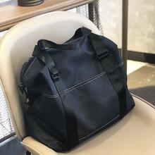 旅行包ja容量男女手an轻便折叠旅行袋收纳健身短途出差行李包