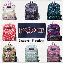 Janjaport杰es肩包官方正品学生书包男女式背包T501特卖花色