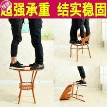 简欧阳ja(小)桌椅酒店my式接待桌椅便宜咖啡店(小)户型卓倚椅