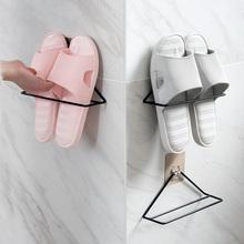 巧居家 铁艺壁挂式三角鞋