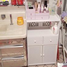 卫生间jc物架浴室落qq收纳架厕所洗手间卫浴柜免打孔三角架子