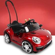 婴(小)汽jd四轮可坐的be控摇摆玩具车宝宝男孩1-3岁