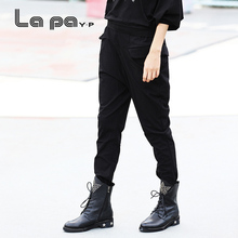 纳帕佳jdP春秋季式sc伦裤宽松休闲女式长裤坠感女式显瘦裤子