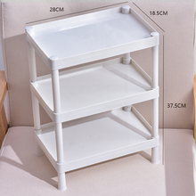 浴室置物架je生间(小)杂物ha洗手间塑料收纳架子多层三角架子