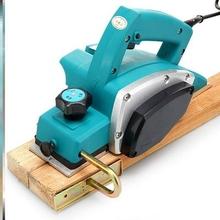 。家用je型手提电刨ha刨多功能压刨木匠刨电动工具刨木机。