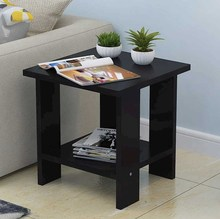 移动床ji柜矮柜简易ba桌子边角桌办公室床头柜子茶几方桌边几