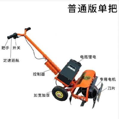 电动松ji机开荒除草wu用便携式农业打草机农具高强度多功能型