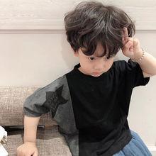 童装男童套装2020夏款(小)童ji11气两件lb5男孩夏装韩款潮3岁