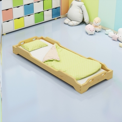(小)床2ji20(小)班(小)ra室宝宝房幼儿园可爱培训班午睡床新品舒适.