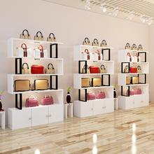 货架展ji架自由组合wu层置物架美容院化妆品陈列柜产品展示柜