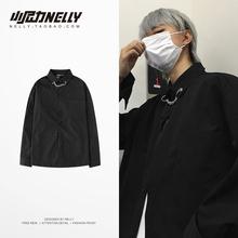[jinseng]网红ins很仙的衬衫男长