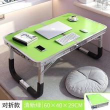 新疆发ji床上可折叠ng(小)宿舍大学生用上铺书卓卓子电脑做床桌