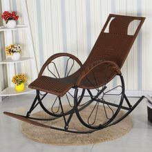 中老年人可折叠竹摇椅家用