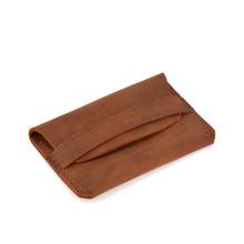 原创手jo牛皮简约多sp包证件银行卡复古便携真皮卡包零钱包